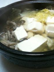 湯豆腐、パーソナルトレーナー江口画像
